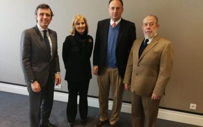 Firmado convenio de colaboración con la Universidad Francisco de Vitoria